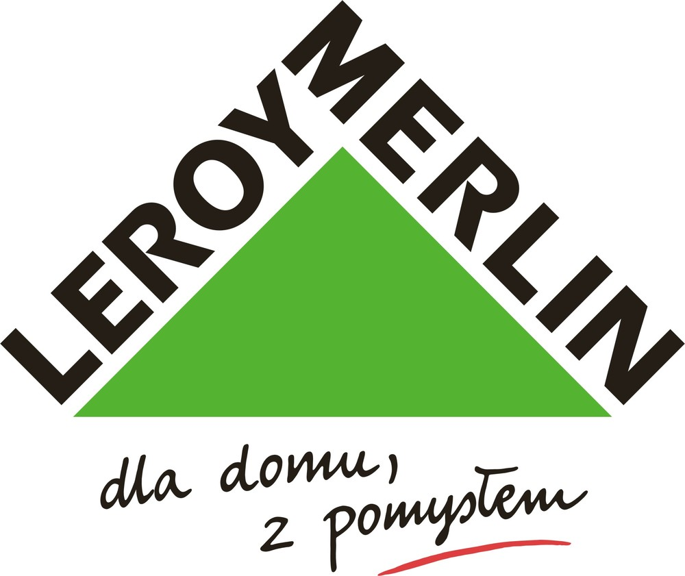 logo Leroy Merlin Polska rekomenduje firmę Delta Training