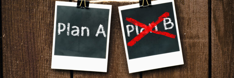 Warto mieć plan B?